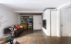 This Genius Tiny Apartment Transforms Into 5 Different Rooms  - HouseBeautiful.com