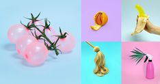 For the last few weeks, photographer and art director Vanessa McKeown has been sharing colorful, quirky interpretations of everyday objects on Instagram. McKeown imagines balloons as various fruits and vegetables and oranges are peeled to reveal unexpected objects. Clever visuals all around. You