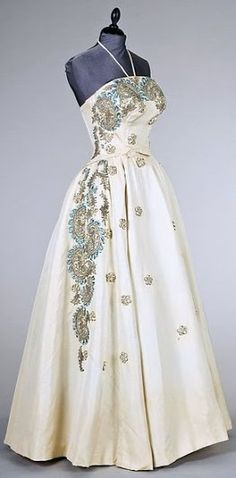 Balmain Dress - 1953-56 - by Pierre Balmain - Kerry Taylor Auctions