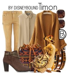 """""""Timon"""" by leslieakay ❤ liked on Polyvore featuring Maison Scotch, Anne Klein, Uniqlo, Arizona, Monsoon and Ruby Kats"""