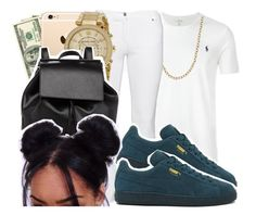 """""""9•29•2O16"""" by arionce ❤ liked on Polyvore featuring Polo Ralph Lauren, Steilmann, Michael Kors, Barneys New York and Puma"""