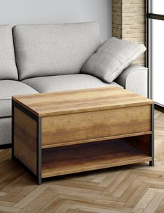 Baltimore Lift Up Coffee Table | M&S Lift Up Coffee Table, Open Shelving, Shelves, Lighting Sale, Bedding Shop, Table Furniture, Outdoor Furniture, Storage Spaces, Metal Working