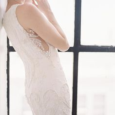 Each detail must be as unique as the bride's love story. 2018 bridal gown collection by designer Hannah Kong. Bridal Gowns, Wedding Dresses, French Lace, Bridal Fashion, Erika, Bridal Collection, Delicate, Butterfly, Detail