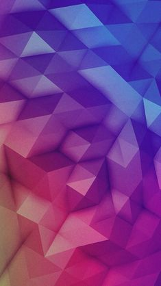 iPhone 5 Wallpaper iOS7 colorful triangels