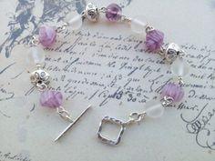 Pink Candy Bracelet by Bijouterie21 on Etsy, £15.00