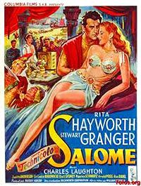 Rita Hayworth, a poster of Salome Classic Movie Posters, Movie Poster Art, Classic Films, Rita Hayworth, Stewart Granger, Old Movies, Vintage Movies, Vintage Posters, Epic Film