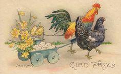 Happy Easter - Glad Pask (Swedish)