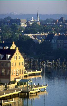 Next long weekend? Waterfront, Old Town Alexandria, Virginia