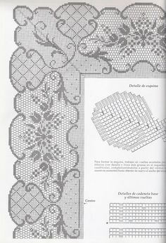 View album on Yandex. Basic Embroidery Stitches, Hand Embroidery Flowers, Cross Stitch Embroidery, Filet Crochet Charts, Crochet Borders, Crochet Patterns, Crochet Doilies, Easy Crochet, Crochet Lace