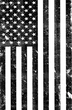 Dirty Vintage Black and White American Flag Art Print by rexlambo American Flag Drawing, Black American Flag, Mexican American, American Flag Tattoos, American Flag Decal, Black And White Flag, Black Art, White Art, Arte Dope