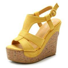 35 Gambar Wedges terbaik   Sandal, Sepatu, dan Sepatu perempuan