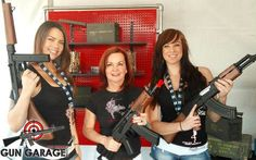 Cowgirls and Gun Girls - only at PBR week!