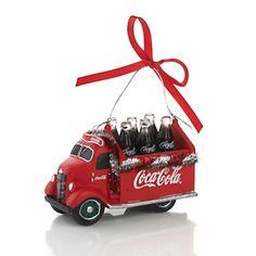 """Coca Cola 4"""" Ornament Delivery Truck at HSN.com."""