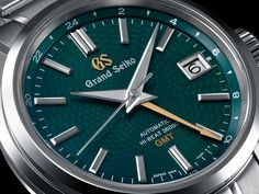 """The Grand Seiko Hi-Beat 36000 GMT Limited Edition """"Peacock"""""""