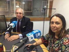 Antonio Banda, CEO de Feelcapital, con la periodista económica Rosana Sáez, en el programa Finanzas Personales de Cierre de Mercados (Radio Intereconomía).  #FondosDeInversión (30 de junio de 2017).