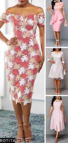 Rotita Early Fall Fashion Pink Dress New Arrivals, Elegant Dresses, Sexy Dresses, Cute Dresses, Beautiful Dresses, Dress Outfits, Evening Dresses, Party Dress Sale, Club Party Dresses, Early Fall Fashion