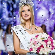 POLINA POPOVA SE CORONA COMO MISS RUSIA 2017  Una esbelta rubia de facciones muy delicadas y grandiosa belleza se corona como la nueva soberana de la nación rusa. Que les parece?