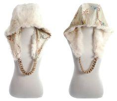 Real Fur Chain Hood