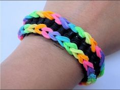 Pulsera de gomitas Loch Ness monster (SIN TELAR) / Loch Ness monster bracelet (NO LOOM)