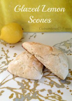 Glazed Lemon Scones - tried several scone recipes today.  Like this one as a base - can be adapted with different flavors.  I made orange cranberry today too!