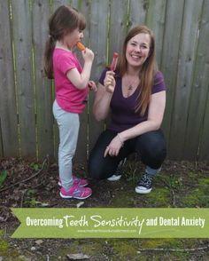 Easy solution! -->Overcoming Teeth Sensitivity and Dental Anxiety #sensitivesmiles AD
