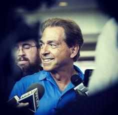 The handsome Coach Nick Saban