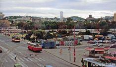 Mlynské nivy pred výstavbou budovy VÚB Bratislava, Street View
