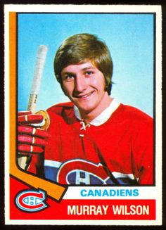 1974-75-OPC-O-PEE-CHEE-HOCKEY-359-MURRAY-WILSON-RC-NM-MONTREAL-CANADIENS-ROOKIE