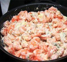 Креветки под соусом - Kurkuma project (Проект Куркума) Можно подавать как самостоятельную закуску, а можно как вкуснейшее дополнение к спагетти или рису.