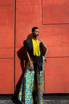 'Africa's New Stage' Mayowa Nicholas by Lakin Ogunbanwo for Models.com January 2017