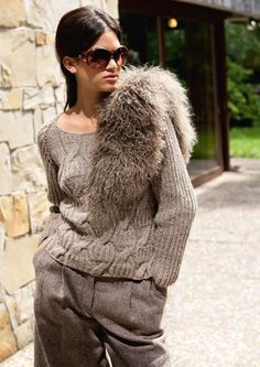 Lana Grossa Raglan Sweater ALTA MODA ALPACA Вязание Косичкой, Ручное  Вязание, Узоры Для Вязания e2dcaaecc0