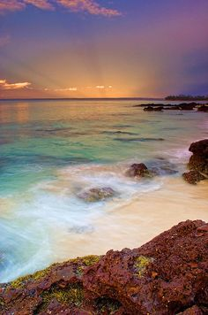 ~~over the horizon... ~ pastel sunset, Jervis Bay, Shoalhaven, NSW, Australia  by djgr~~