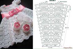 vestidos bebe niña crochet (6)                                                                                                                                                     Más