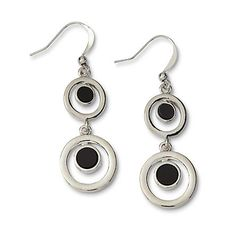 Attention Women's Silvertone Drop Earrings