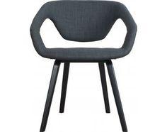 Stoel Flex Back - Zwart - Donkergrijs - Zuiver #chair