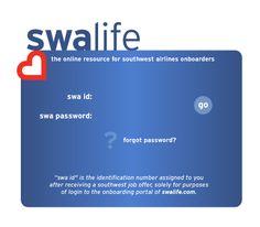 SWALife OnBoarding Login Page