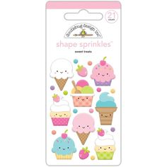We've just added Fairy Tales Sweet... to the Kat Scrappiness Store!  More info here:  http://www.katscrappiness.com/products/fairy-tales-sweet-treats-doodlebug-sprinkles-adhesive-glossy-enamel-shapes?utm_campaign=social_autopilot&utm_source=pin&utm_medium=pin