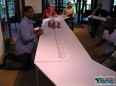 Minute to Win It team building challenges