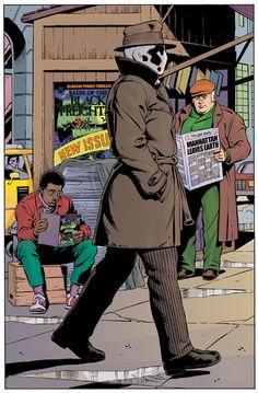 Rorschach por Dave Gibbons