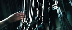 gun rack closeup