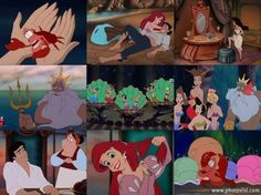 Little Mermaid scenes