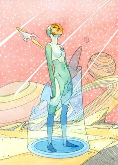 Synesthesia, David Bowie, and Mœbius