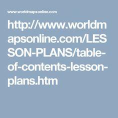 http://www.worldmapsonline.com/LESSON-PLANS/table-of-contents-lesson-plans.htm