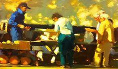 Figure Painting, Figure Drawing, Kim English, Ben Shahn, Art Students League, English Artists, Cg Art, Traditional Paintings, Light Painting