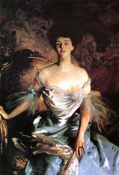 1903 John Singer Sargent (American expatriate artist, 1856-1925) Mrs. Joseph E. Widener  It's About Time