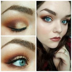 ANASTASIA MODERN RENAISSANCE/SOFT WARM SMOKY EYE/TUTORIAL