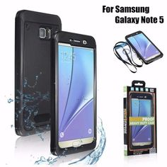 #BangGood - #Galaxy ST-113 Swimming Waterproof Shockproof Snowproof Cover Case with Film for Samsung Galaxy Note 5 - AdoreWe.com