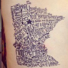 Mn tattoo
