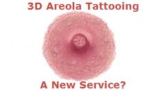 3D Nipple Tattooing a New Service? - If you are considering undergoing areola tattooing then this article contains important information that will assist you to make an informed choice about your selection of a service provider.