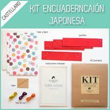 Kit encuadernación japonesa Mirabet. Con este Kit aprenderás a hacer tus propias libretas mediante 4 técnicas de encuadernación japonesa: Yotsume toji, Kangxi, Asa-no-ha toji y Kikko toji.